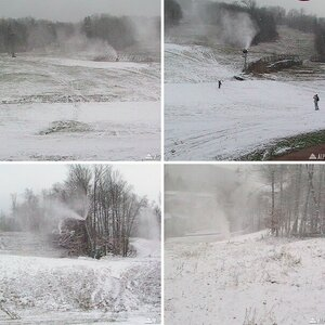 Snowmaking At Loon 11/18/8